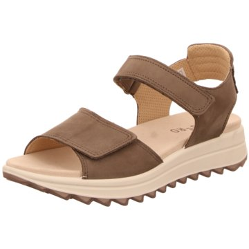 Legero Komfort Sandale braun