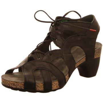 Think Komfort Sandale schwarz