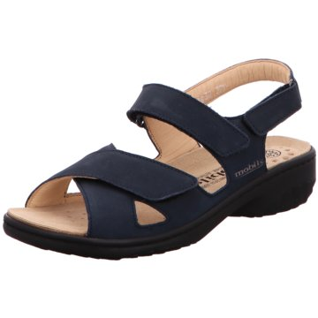 Mobils Komfort Sandale blau
