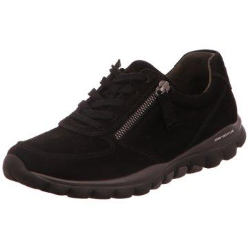 Gabor comfort Sneaker Low schwarz