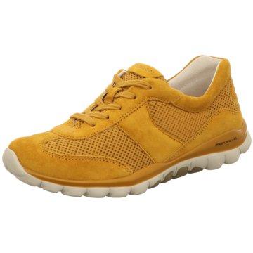 Gabor Sportlicher SchnürschuhSneaker gelb