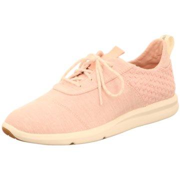 TOMS Sneaker World rosa