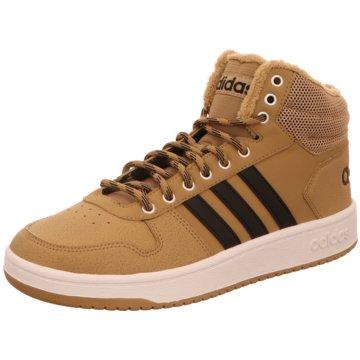 adidas Sneaker HighHoops 2.0 Mid braun