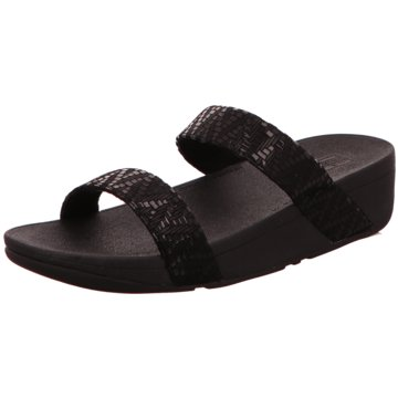 FitFlop Komfort PantoletteLOTTIE CHEVRON SLIDE schwarz