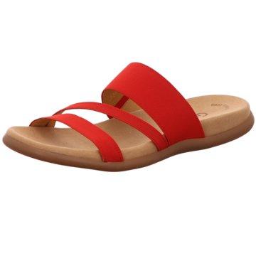 Gabor Klassische PantolettePantolette rot