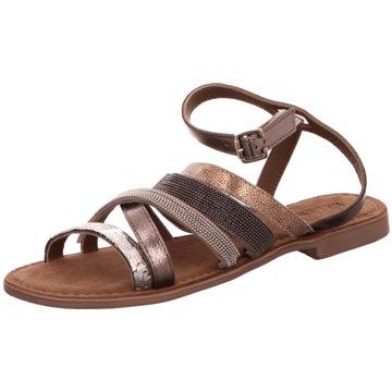 Lazamani Sandale grau