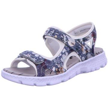 Rieker Komfort Sandale bunt