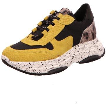 SPM Shoes & Boots Plateau Sneaker gelb
