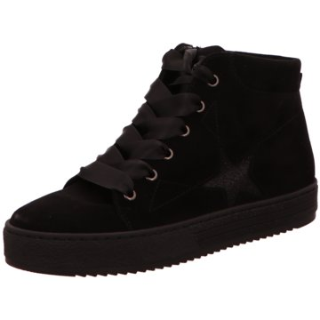 Gabor comfort Sneaker High schwarz
