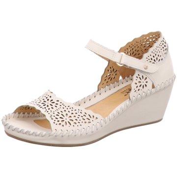 Pikolinos Komfort Sandale weiß