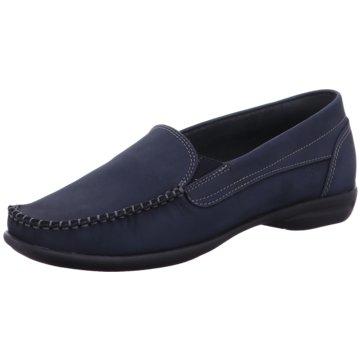 Sioux Komfort Slipper blau