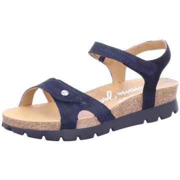 Panama Jack Komfort Sandale blau