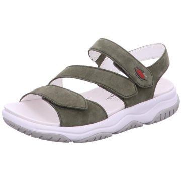 Gabor comfort Komfort Sandale oliv