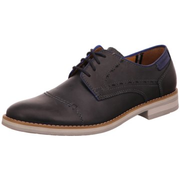 Fretz Men Business Schnürschuh blau