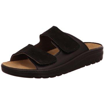 Algemare Komfort Schuh schwarz
