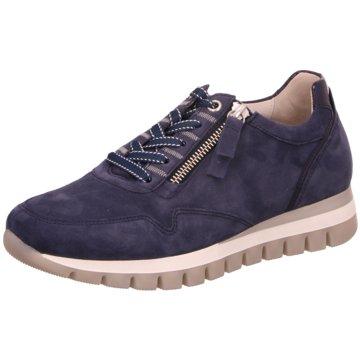 Gabor Komfort SchnürschuhSneaker blau