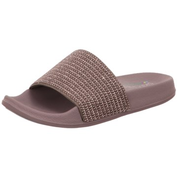 Skechers Pool Slides silber