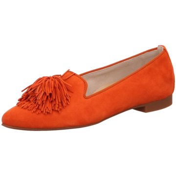 Paul Green Klassischer Slipper orange