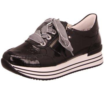 Remonte Sportlicher Schnürschuh schwarz