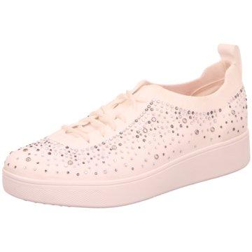 FitFlop Sneaker Low weiß
