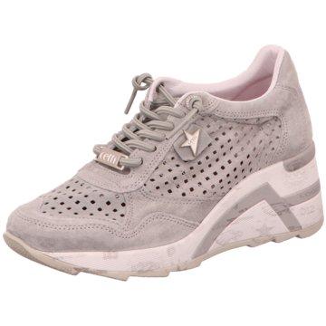 Cetti Sneaker Wedges grau