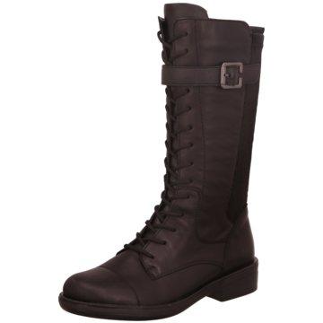 Remonte Komfort Stiefel schwarz
