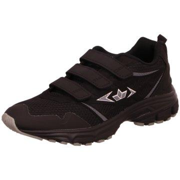 Geka Sportlicher Schnürschuh schwarz