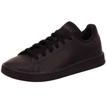 adidas Sneaker LowADVANTAGE K - EF0212 schwarz