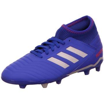 adidas FußballschuhPREDATOR 19.3 FG J blau