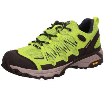 Brütting Outdoor Schuh grün