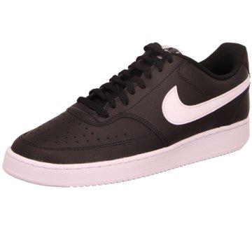 Nike Sneaker LowCourt Vision Lo schwarz