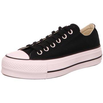 Converse Plateau SneakerCTAS Lift Ox schwarz