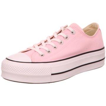 Converse Plateau Sneaker rosa