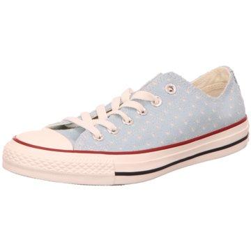 Converse Sneaker LowAll Star OX blau