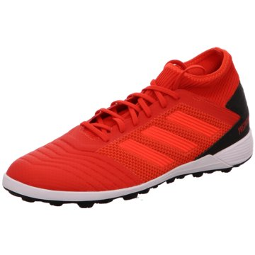 adidas Multinocken-SohlePredator 19.3 TF rot