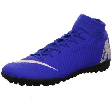 Nike Multinocken-SohleMercurialX Superfly VI Academy TF blau