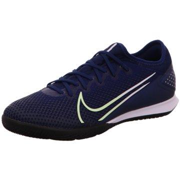 Nike Hallen-SohleMercurial Vapor XIII Pro MDS IC blau