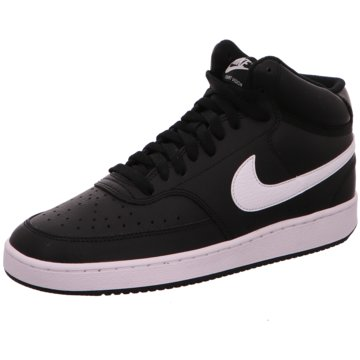 Nike Sneaker HighNikeCourt Vision Mid - CD5436-001 schwarz