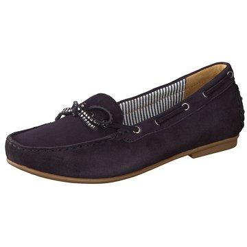 Gabor BootsschuhSlipper blau