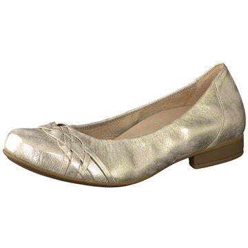 GABOR Ballerinas gold TVHLezxrQo