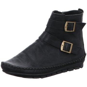 Gemini Komfort Stiefelette schwarz