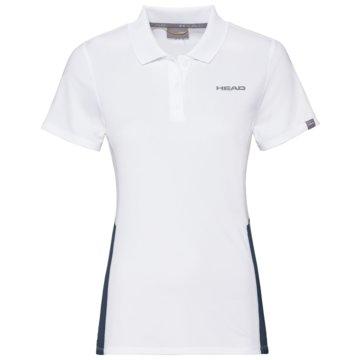 Head PoloshirtsCLUB TECH POLO SHIRT W - 814339 weiß