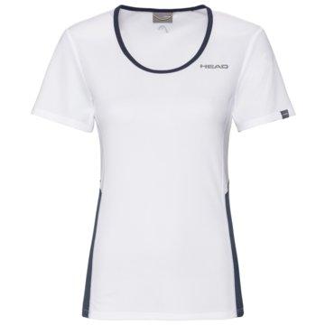 Head T-ShirtsCLUB TECH T-SHIRT W - 814349 weiß