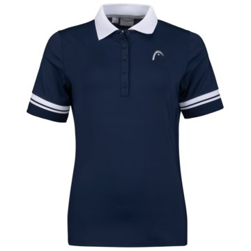 Head PoloshirtsPERF POLO II SHIRT W - 814551 blau