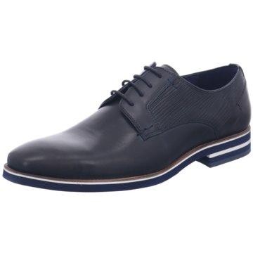Will Lester Eleganter Schnürschuh blau