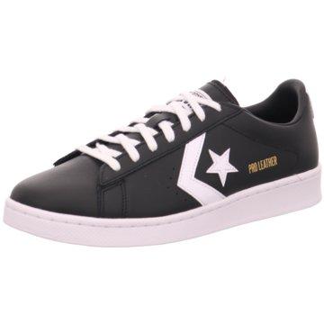 Converse Sneaker LowPro Leather Ox - 167238C schwarz