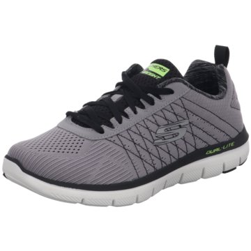 Skechers - Schnürhalbschuh Flex Advantage 2.0 - The Happs -  grau