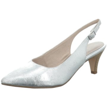 Tamaris Top Trends Pumps silber