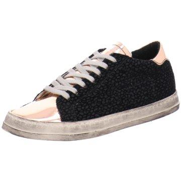 P448 Sneaker Low schwarz