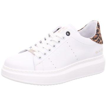 Black Sneaker Low weiß